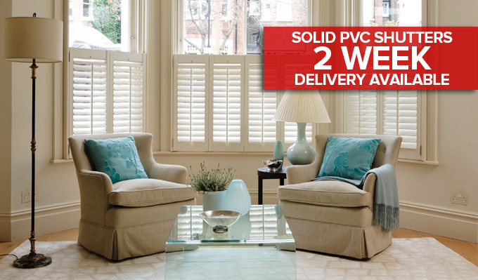 shutters delivered in 2 weeks in Glasgow from Shades Blinds