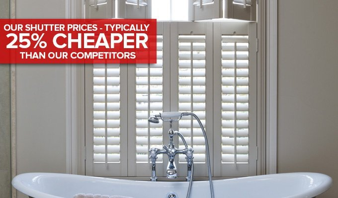 Best Price Shutters in Glasgow from Shades Blinds