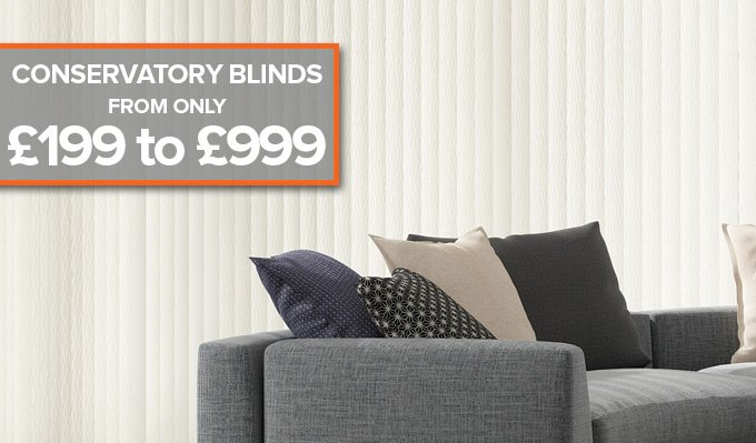 Conservatory Blinds from Shades Blinds