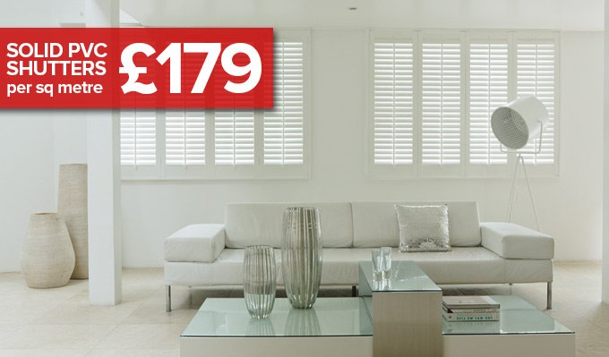 uPVC Shutters from Shades Blinds