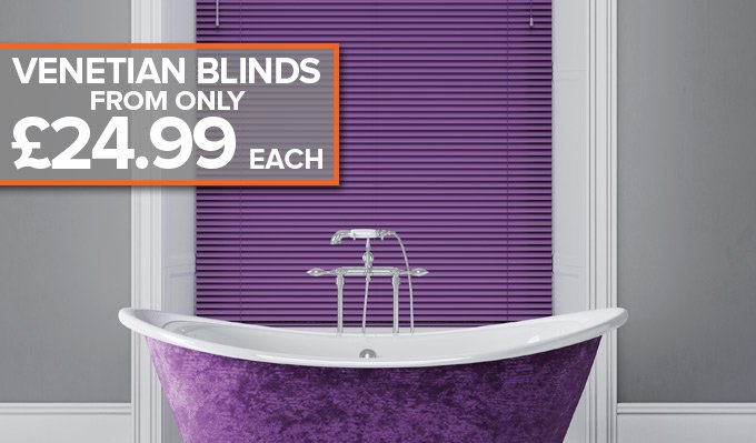 New Arrival Venetian Blinds from Shades