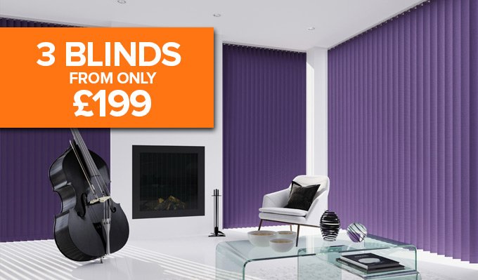 PVC vertical Blinds from Shades