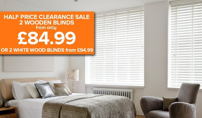 Real Wooden Blinds from Shades
