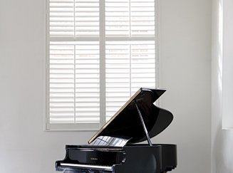 Hard Wood Shutters from Shades Blinds