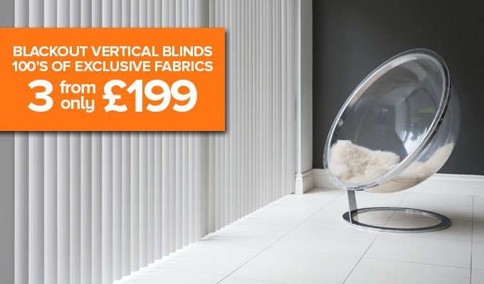 Blackout Vertical Blinds from Shades