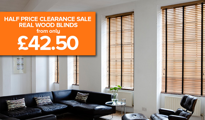 Real Wood Venetian Blinds from Shades Blinds