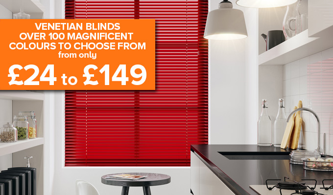 Venetian Blinds from Shades