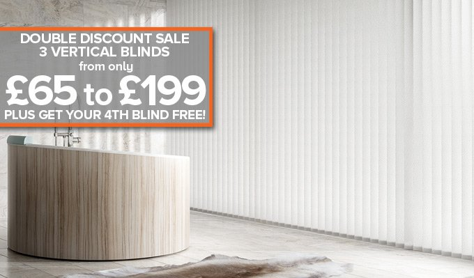 Bathroom Vertical Blinds from Shades Blinds