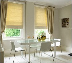 Roman Blinds from Shades
