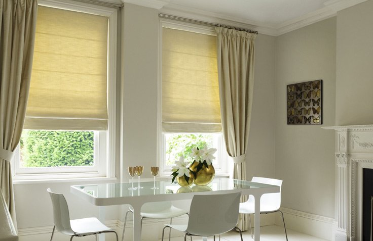 How to Match Curtains with Blinds