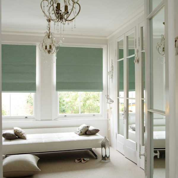 green roman shades blackout green roman blind romanblinds blinds gallery inspiration colour choice style