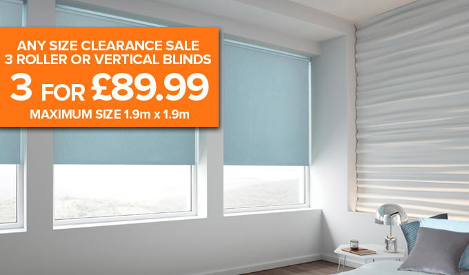 Any Size Roller Blind Deal