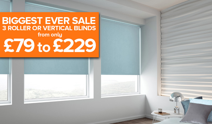 Roller Blinds Amazing Value