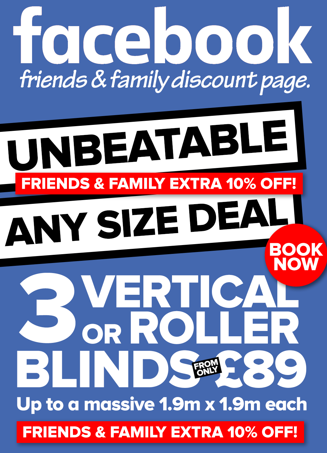 Any Size Deal on Blinds from Shades