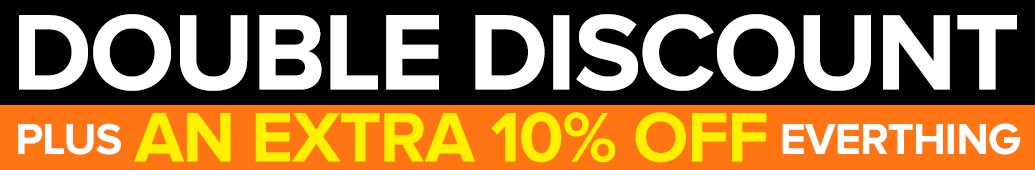 Double Discount Banner