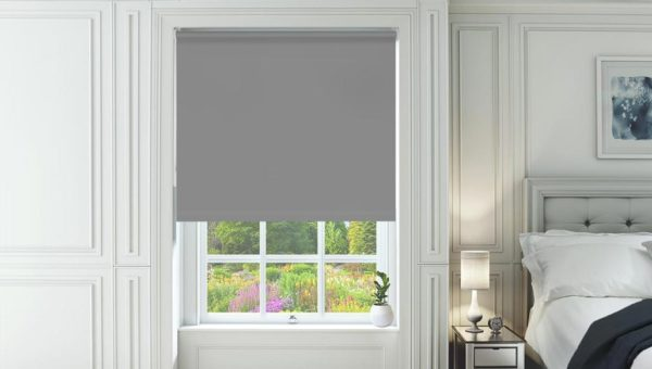 Classic Dark Grey Roller Blind New Sq Metre Pricing