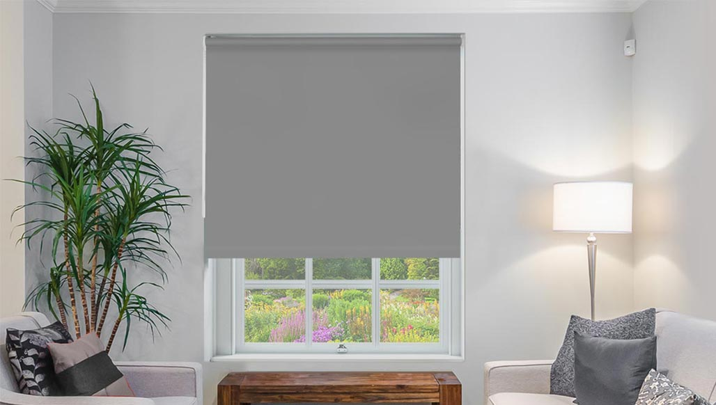 Classic Dark Grey Roller Blind New Sq Metre Pricing Shades Blinds