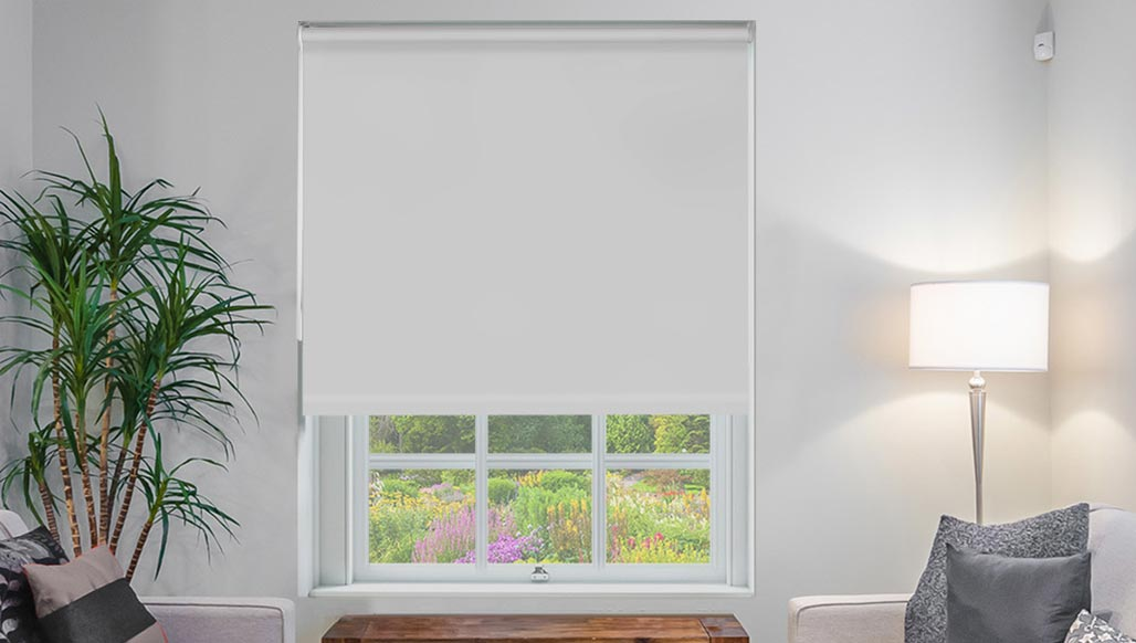 Classic Grey Roller Blind New Sq Metre Pricing Shades Blinds