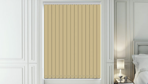 Signature Cream Vertical Blind New Sq Metre Pricing