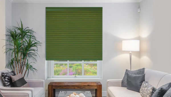 Clearance Real Wood Venetian Blind Green Shades Blinds