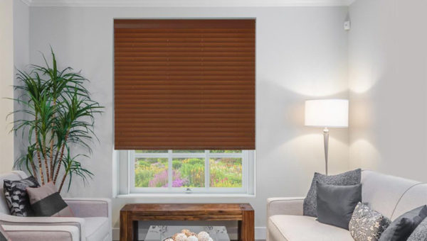 Clearance Real Wood Venetian Blind Red Mahogany Shades